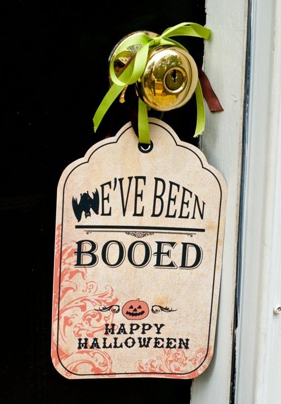 We've Been Boo'd // Halloween Fun Ideas