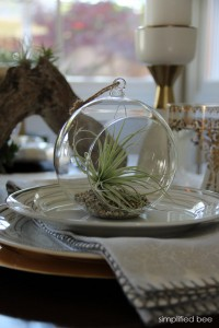 california style holiday table setting // simplified bee blog #TargetStyle