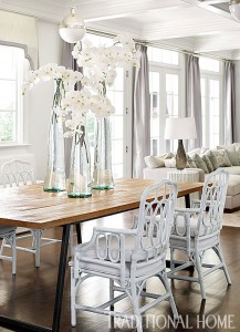 elegant open dining space design // Bradshaw Orrell