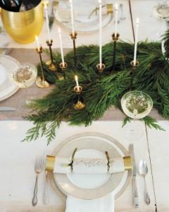elegant gold & white thanksgiving table // camille styles