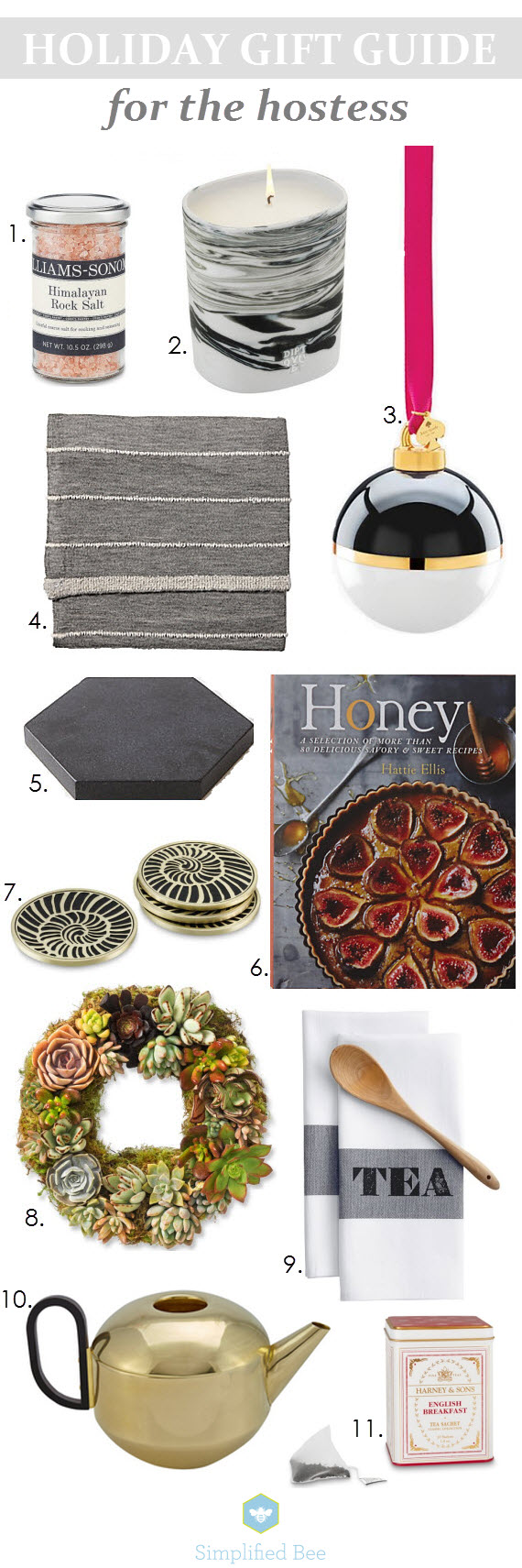 holiday gift guide 2014 // hostess gift ideas // simplified bee #holiday #gifts