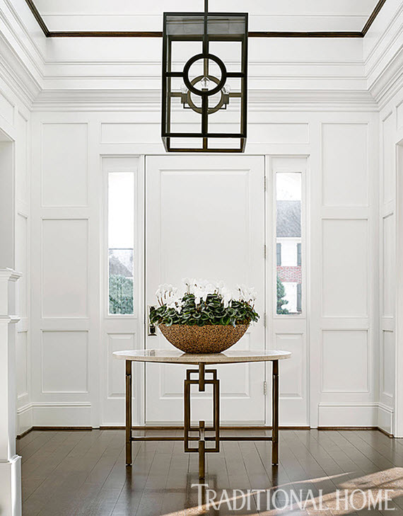 Traditional Foyer : Design crush bradshaw orrell interiors simplified bee