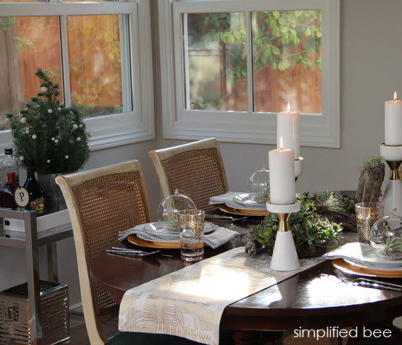 Luxury white and gold holiday decor simplified bee blog TargetStyle