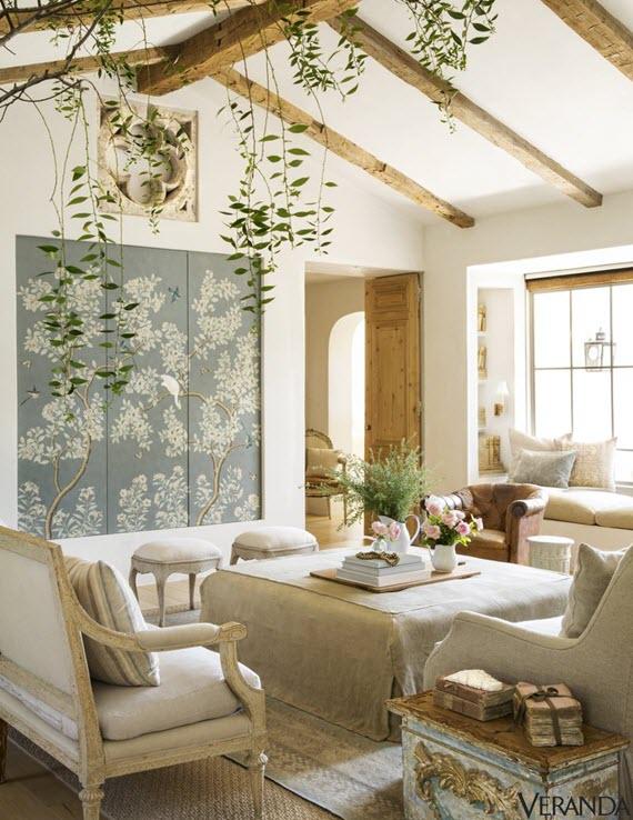living room // velvet & linen