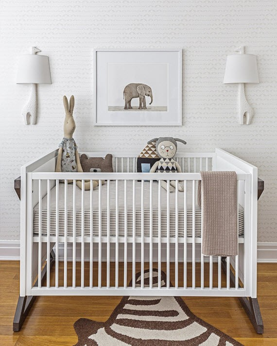 elephant nursery room design