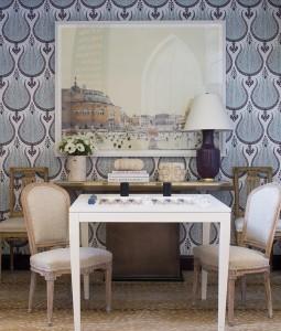 Game Table // Livining Room // Sara Gilbane