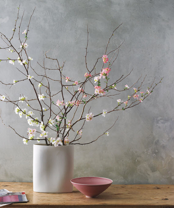 cherry blossoms // spring floral arrangements