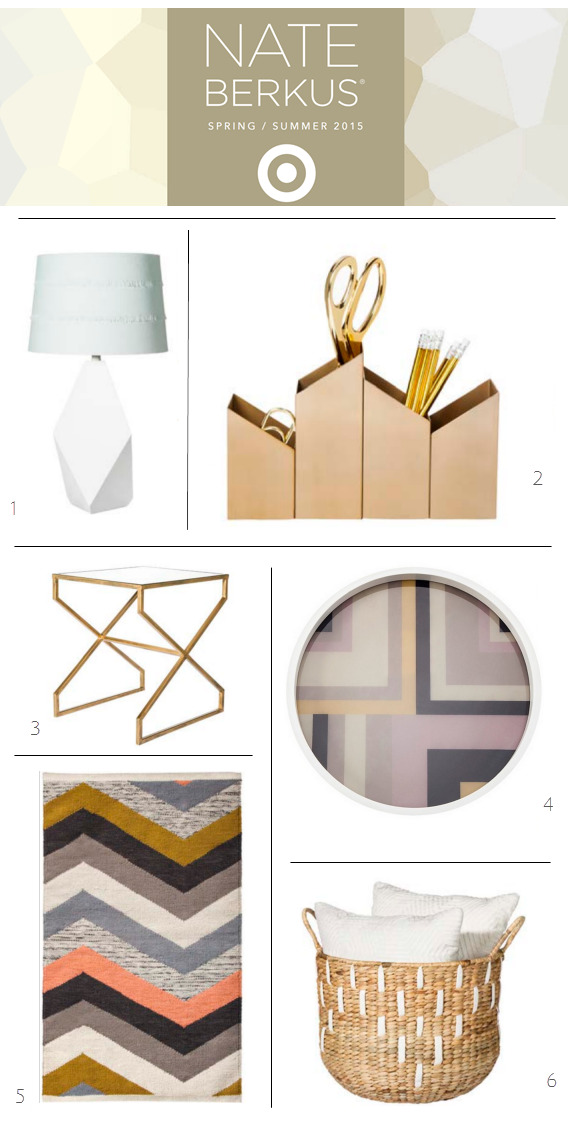 Nate Berkus for Target // Spring & Summer 2015 Collection