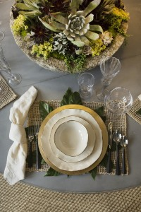 Table Setting // Formal Dining Room // San Francisco Decorator Showcase