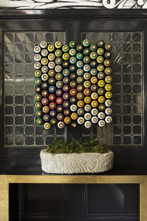 """Spray Can"" Street Art // Ian Ross // San Francisco Decorator Showcase"