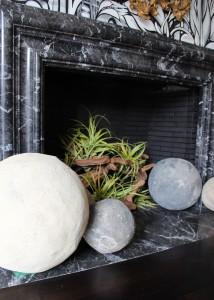 San Francisco Decorator Showcase // Formal Dining Room // Fireplace Detail