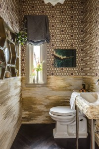 San Francisco Decorator Showcase // Powder Room // Julie Rootes Interiors