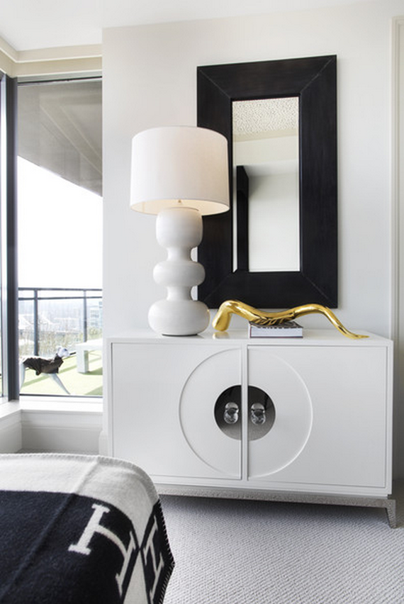 chic credenza // bedroom // lonny mag