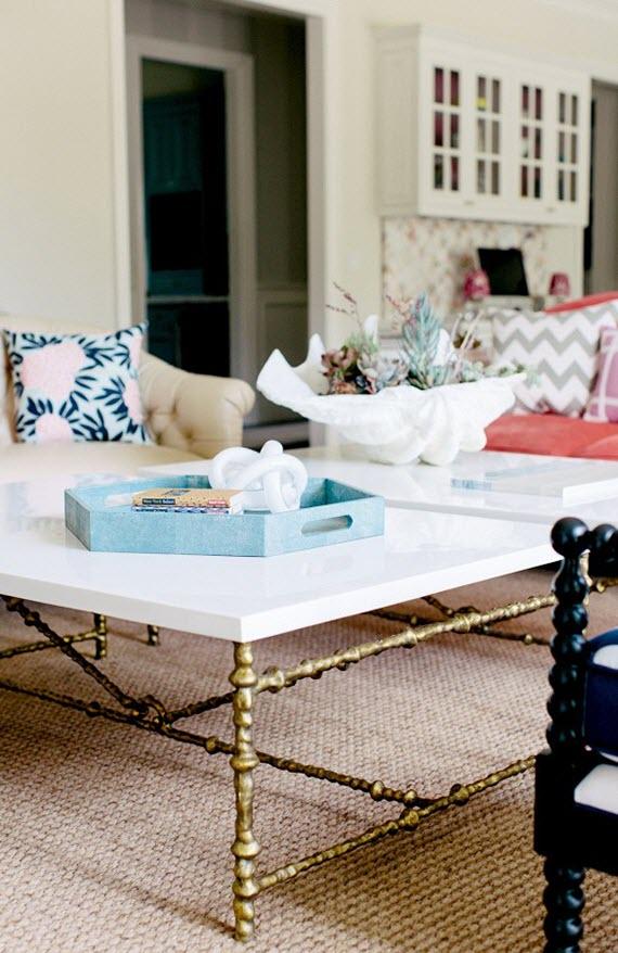 traditional living room // chloe warner