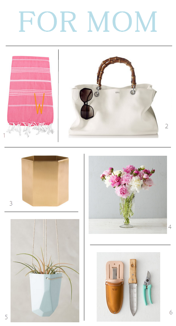 Mother's Day Gift Guide 2015 // Simplified Bee