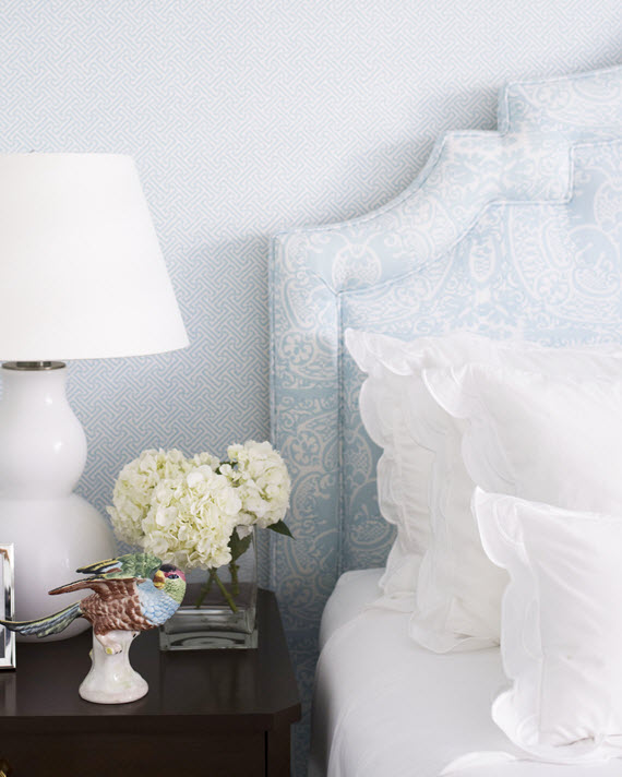 powder blue bedroom // JK Kling