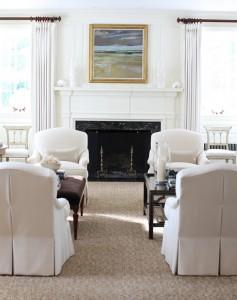 traditional living room // JK Kling