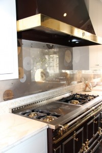La Cornue Range in Brown // Kitchen // SF Decorator Showcase