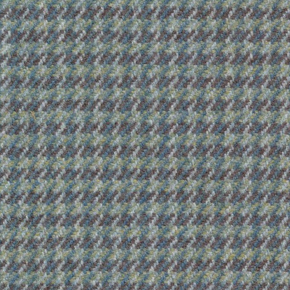 blue-green check // ronda carman fine fabrics