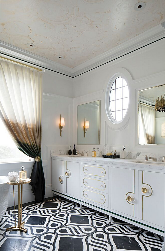 Elegant design bathroom for Elegant master bathrooms pictures