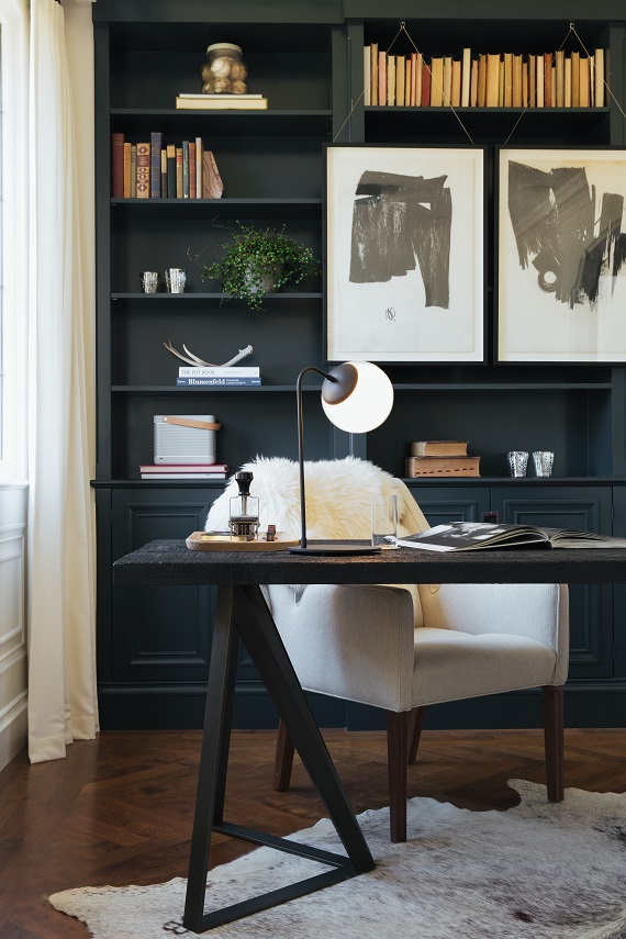 his office // sf decorator showcase // brittany haines