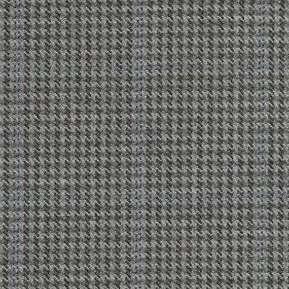 grey houndstooth plaid // ronda carman fine fabrics