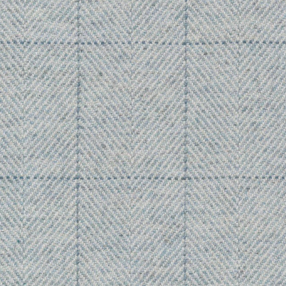 ice-blue plaid // ronda carman fine fabrics