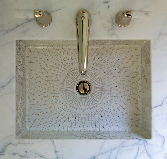 Master Bathroom Sink // San Francisco Decorator Showcase // Tineke Triggs
