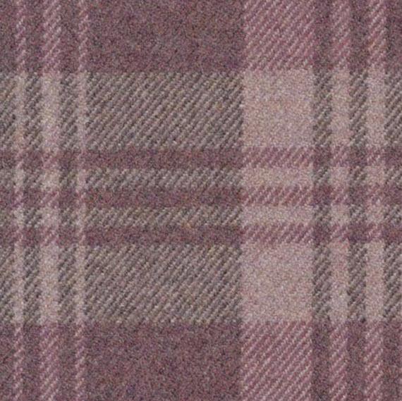 pink plaid // ronda carman fine fabrics