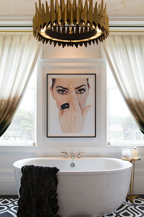 Master Bathroom // San Francisco Decorator Showcase // Tineke Triggs