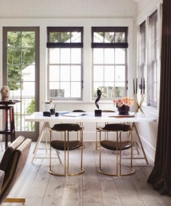 brass chairs // windsor smith HOMEFRONT