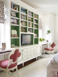 girl's bedroom // celerie kemble design