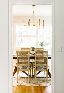 dining room // cristin priest design // rue magazine // photo julia robbs