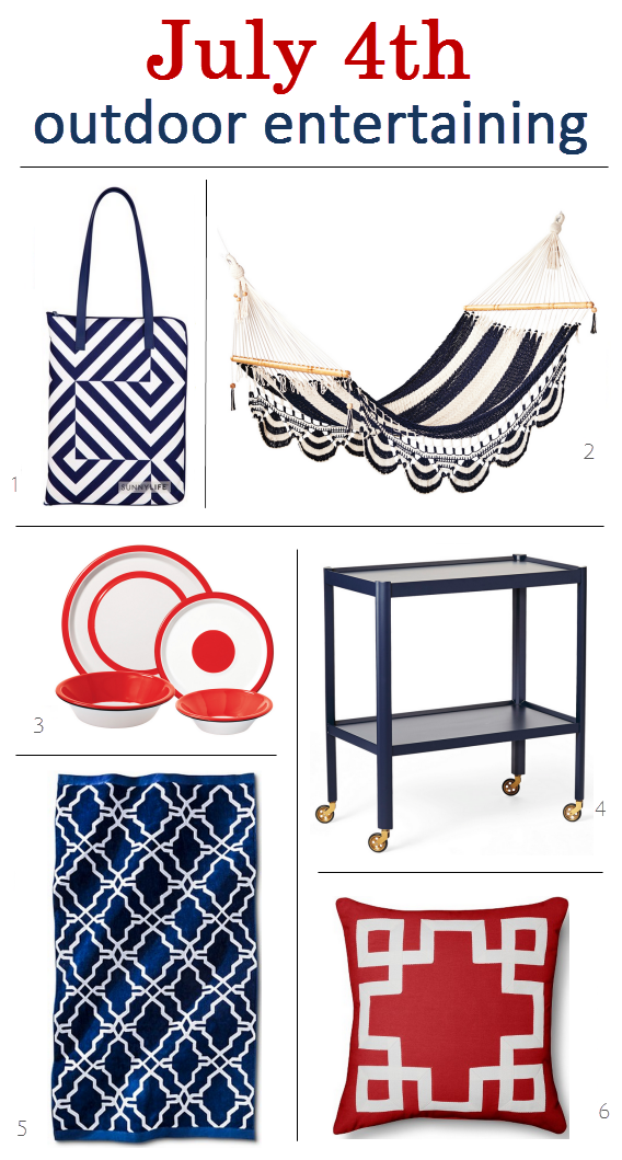 July 4th // Outdoor Entertaining Picks
