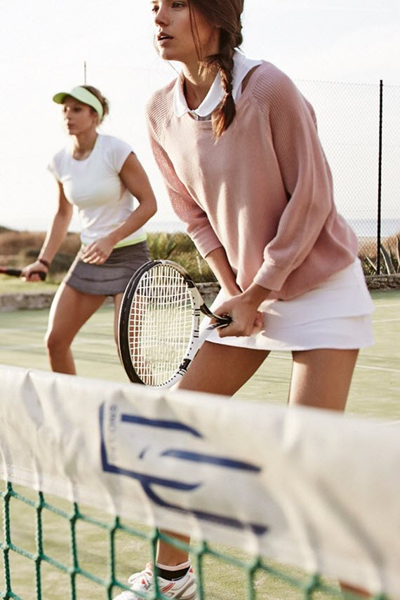 tennis // vogue UK
