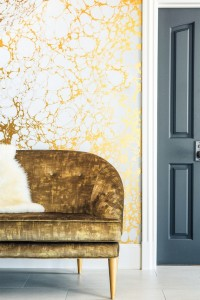 Entry // Japanese-style Wabi wallpaper by Calico // Megan Tagliaferri