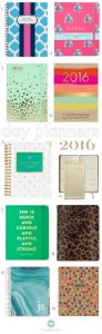 best stylish planner 2016 // simplifiedbee.com #2016 #planners