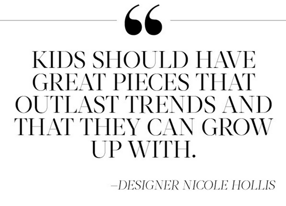 design advice // kids' rooms // Designer Nicole Hollis