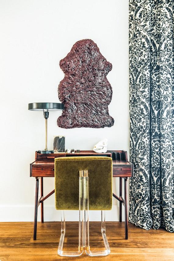 Rosewood Desk // Megan Tagliaferri