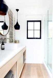 contemporary california bathroom // maggie pierson
