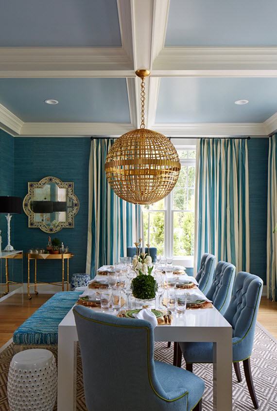 dining room // hampton designer showhouse 2015