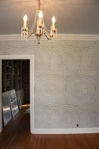 foyer lighting // one room challenge // @simplifiedbee
