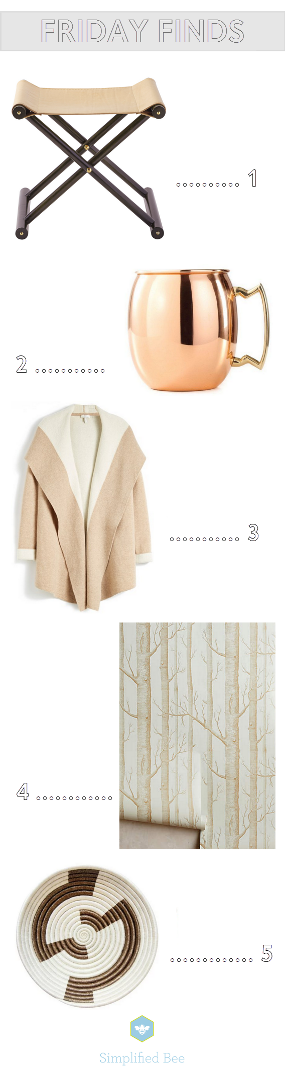 fall neutrals // friday finds // www.simplifiedbee.com