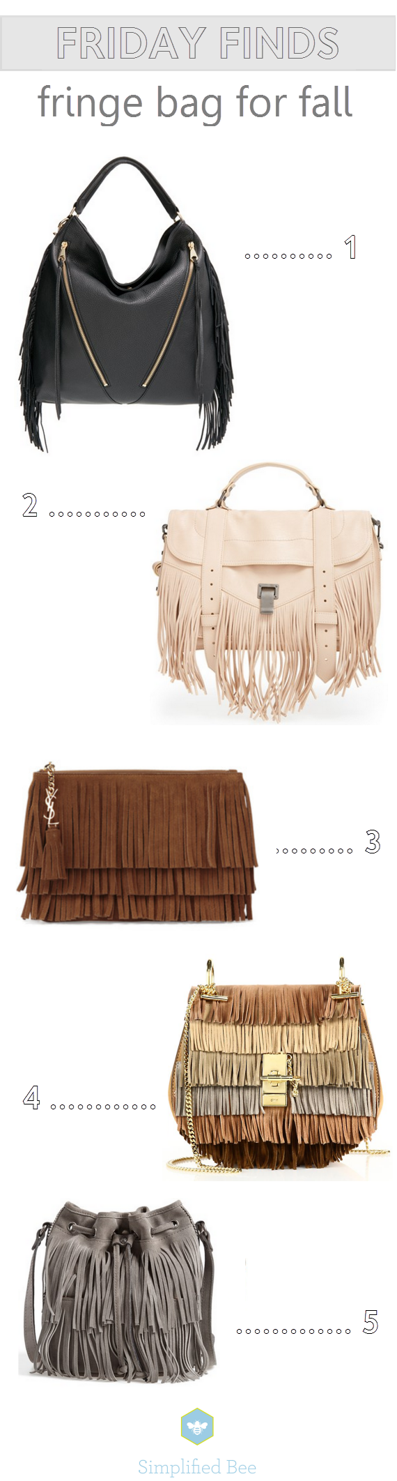 fringe bags for fall // www.simplifiedbee.com #handbags #fall