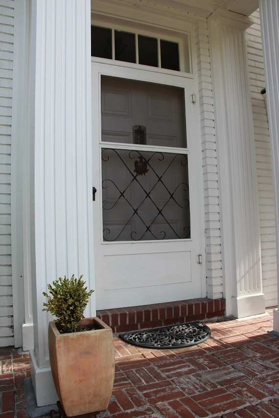 front door before // ORC // www.simplifiedbee.com