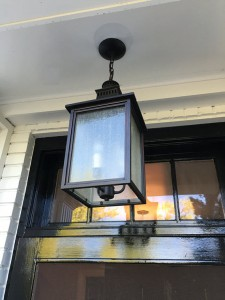 outdoor hanging lantern // one room challenge // @simplifiedbee