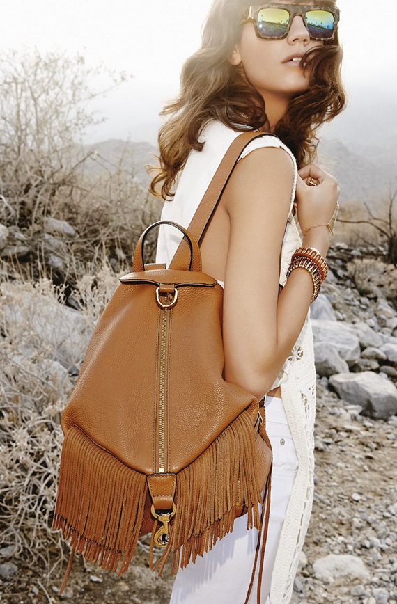 rebecca minkoff julian fringe backpack // fringe bags for fall // www.simplifiedbee.com