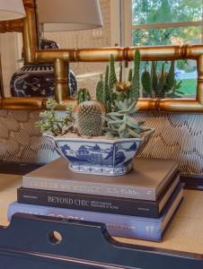cacti & succulent arrangement // @simplifiedbee