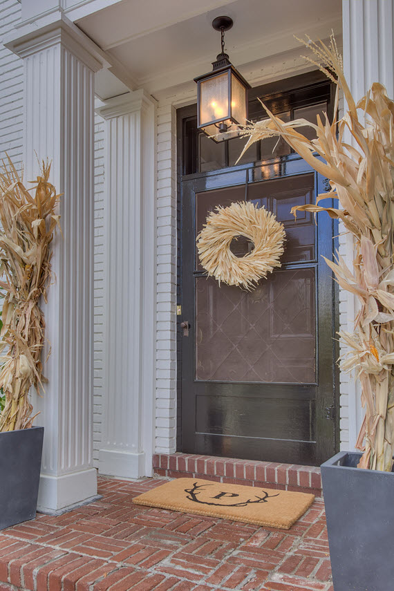fall front door // one room challenge // @simplifiedbee