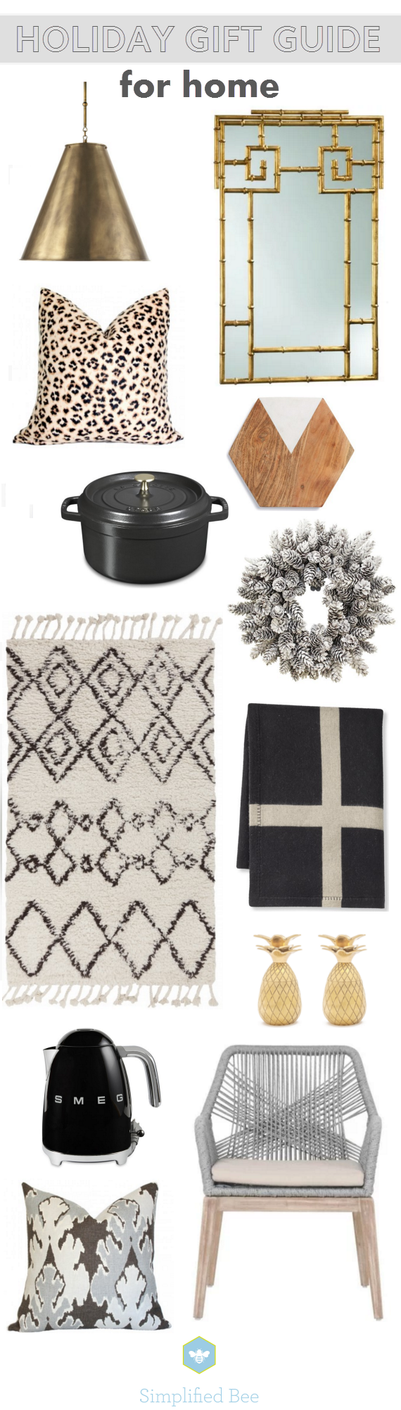 holiday gift guide 2015 // for home // via @simplifiedbee
